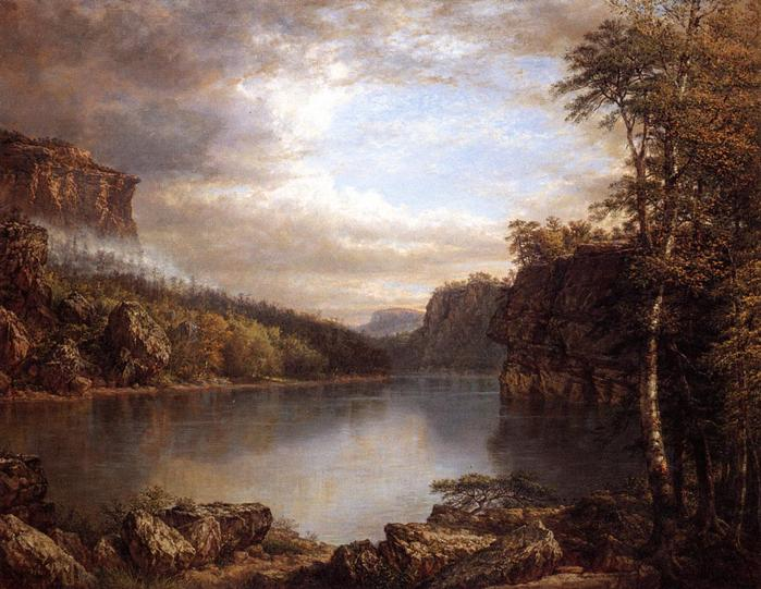 Daniel Huntington  Lake Mohonk ,1899 амер..jpg (699x541, 68Kb)