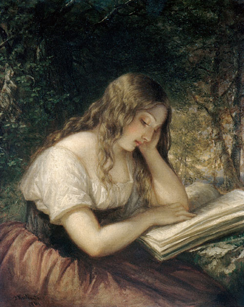 Huntington Daniel 1816 -1906 Study In A Wood 1861.jpg (500x629, 86Kb)