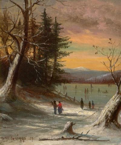 Samuel W. Griggs Ice Skating 1878 (1827-1898) амер..jpg (400x481, 38Kb)