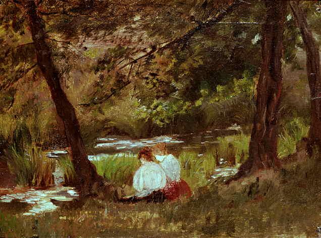 кассат две женщины ,сидящие около лесного ручья 1869.jpg (636x471, 44Kb)