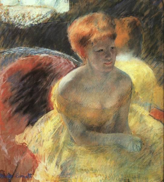 кассат В театре .женщина в ложе. 1879.jpg (543x600, 50Kb)