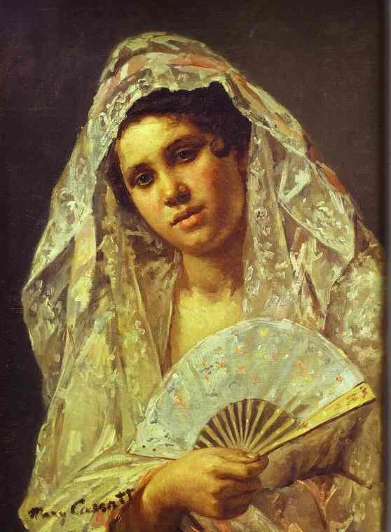 Мэри Кассат испанская танцовщица в кружевной мантилье 1873.jpg (558x760, 38Kb)