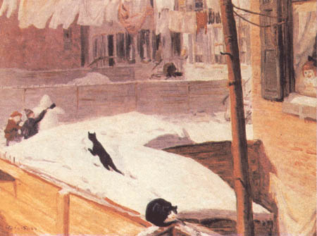 задворки гринвич-виллиджа 1914 Джон Слоун.jpg (450x335, 36Kb)