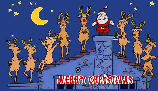 Виртуальные новогодние открытки бесплатно