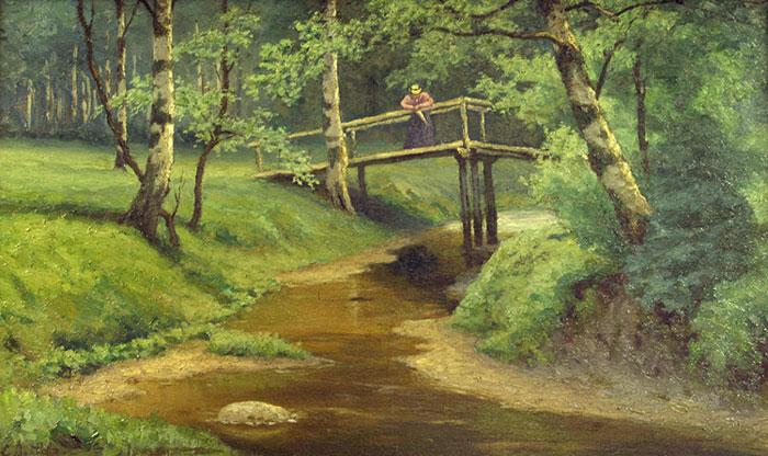 ефим волков лесной пейзаж 1900 годы.jpg (700x416, 99Kb)