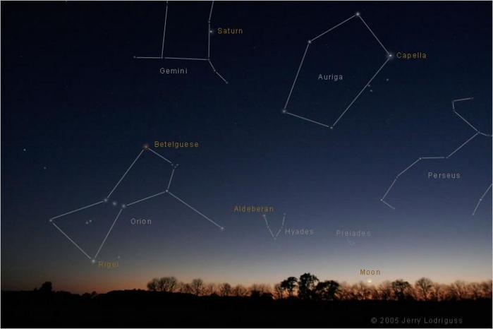Созвездие ориона фото картинки