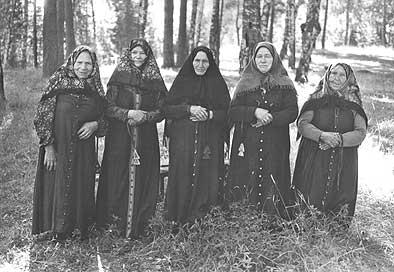 ...этноконфессиональной группы сибирских переселенцев, не принявших церковной реформы середины XVII в...