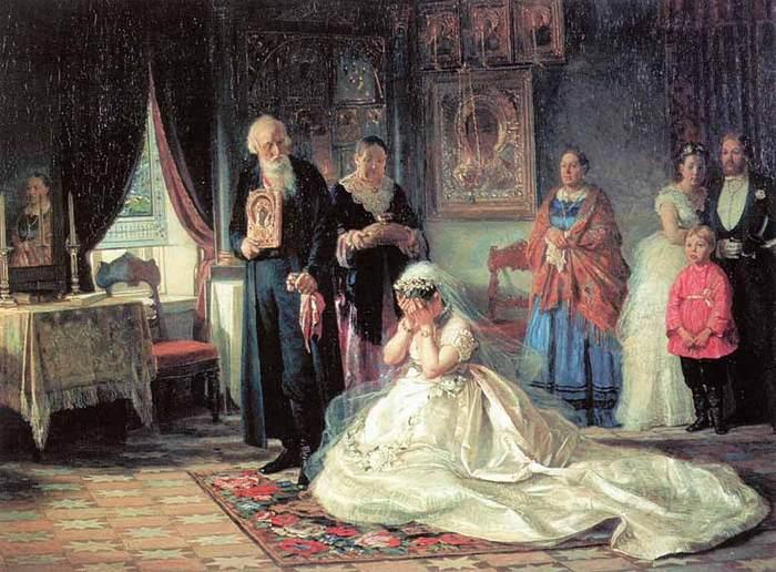Перед венцом Фирс Сергеевич Журавлёв.1874.jpg (700x516, 70Kb)