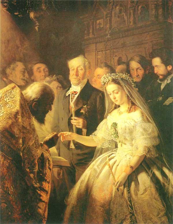 Василий Владимирович Пукирев  1832-1890 неравный брак 1862.jpg (600x776, 55Kb)