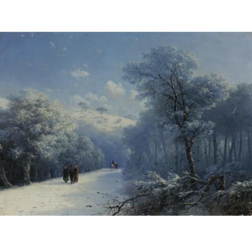 Иван Константинович Айвазовский 1817-1900 Зимний  пейзаж.jpg (500x500, 24Kb)