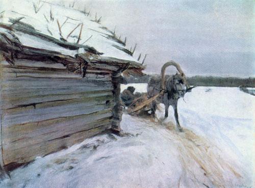 1898 Валентин Серов Зимой.jpg (500x370, 53Kb)