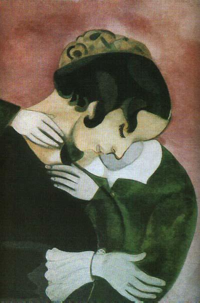 Марк Шагал. 1887 - 1985  Розовые любовники.jpg (400x605, 38Kb)