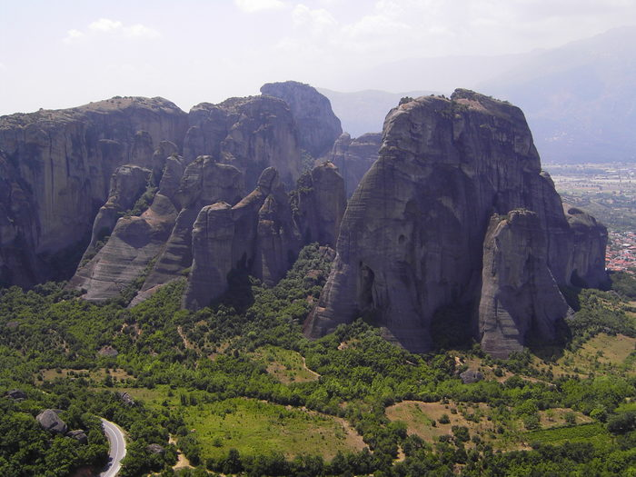 Греция. Метеора. Июль 2005.