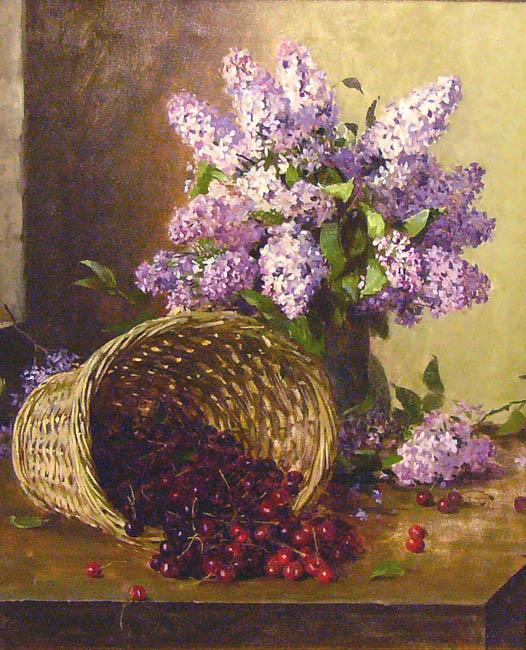 Альфред Гирв Сирень с корзиной ягод 1900-е.jpg (526x650, 113Kb)