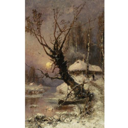 ю.клевер Каноэ у реки. 1911.jpg (500x500, 31Kb)