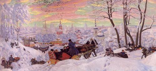 Борис Кустодиев Масленница 1916.jpg (500x228, 46Kb)