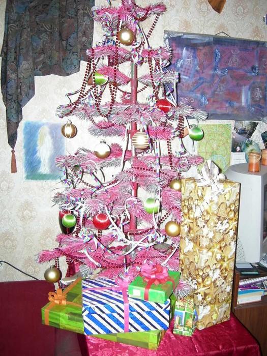украшенная розовая елка.JPG (525x700, 162Kb)