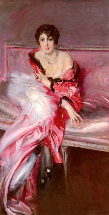 Portrait Of Madame Juillard In Red, 1912.jpg (355x699, 79Kb)