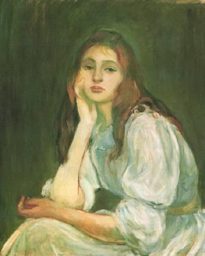1894 портрет   дочери .  Жюли Мане.jpg (400x499, 22Kb)