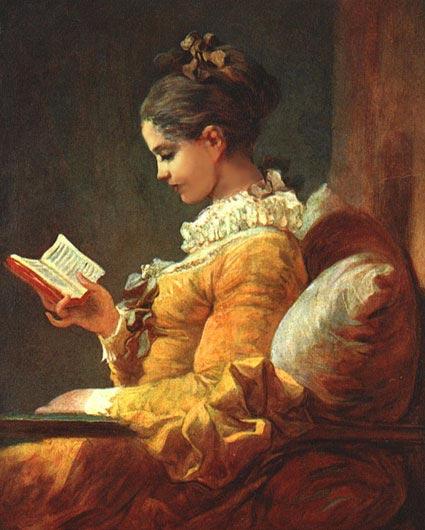 жан оноре фрагонар Читающая молодая женщина 1776г..jpg (425x530, 49Kb)