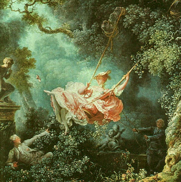 Жан-Оноре Фрагонар 1732-1806 Качели 1767.jpg (595x600, 109Kb)