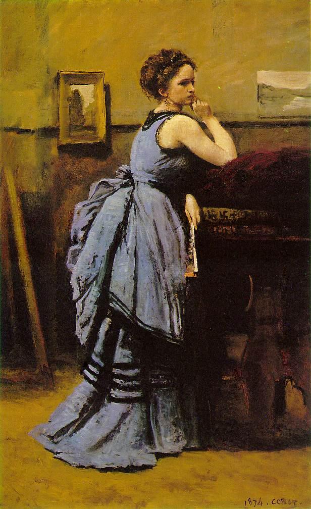 lady in blue Коро 1874.jpg (616x1008, 118Kb)