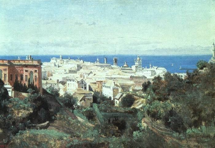 Коро. Вид на Геную1834.jpg (700x482, 62Kb)