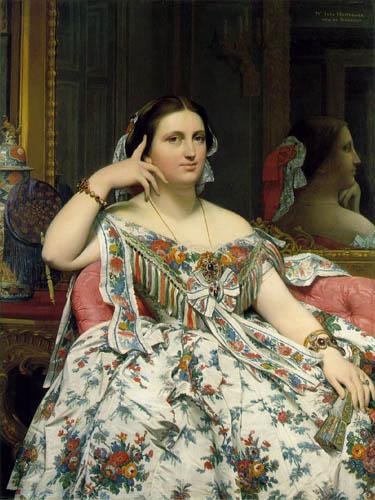 Мадам Муатесье Энгр Жан Огюст 1814.jpg (375x500, 54Kb)