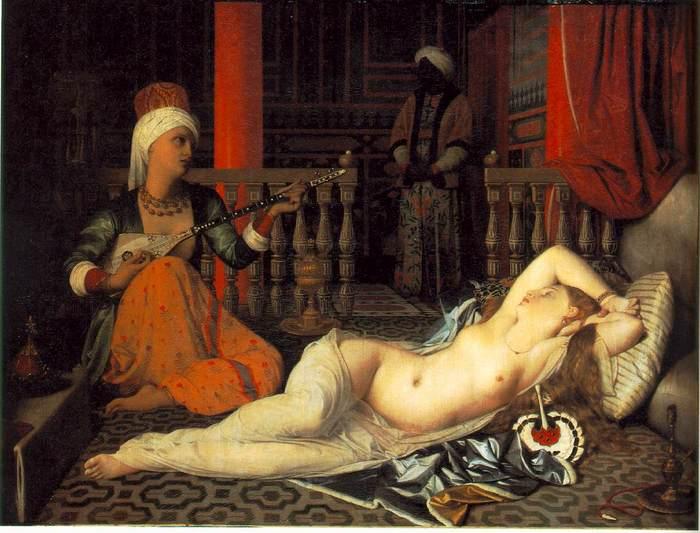 энгр Odalisque with a Slave 1840.jpg (700x533, 57Kb)