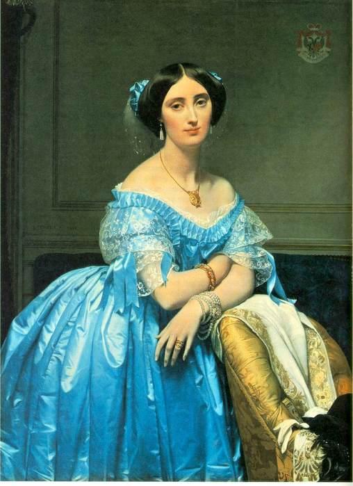 энгр Pauline Eleanore de Galard de Brassac de Bearn, Princesse de Broglie  1853.jpg (508x699, 52Kb)