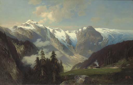 Николай фон Астудин 1848-1925 Пейзаж с горами 1878.jpg (512x327, 31Kb)