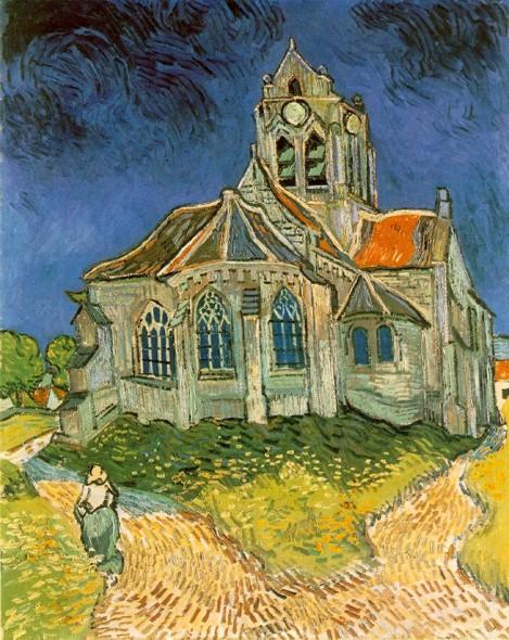Церковь в Овере . 1890.jpg (469x590, 67Kb)