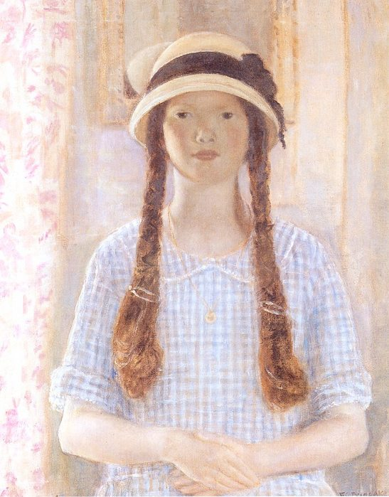 портрет дочери. Франсуаза, 1924.jpg (547x699, 80Kb)