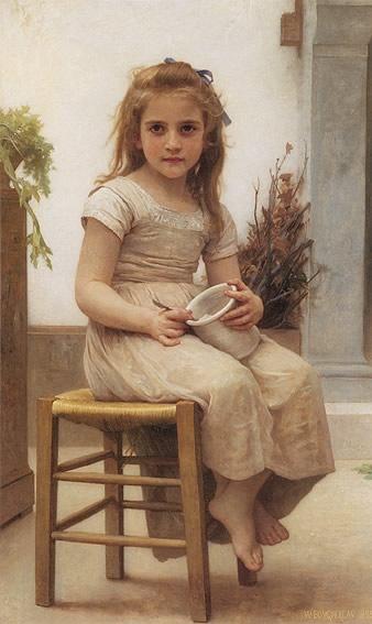 Le goûter. 1895 бугро.jpg (338x567, 43Kb)
