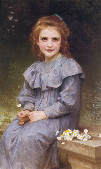 Pâquerette. бугро 1894.jpg (341x567, 46Kb)
