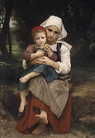 Frère et soeur bretons.бугро 1871.jpg (313x454, 28Kb)