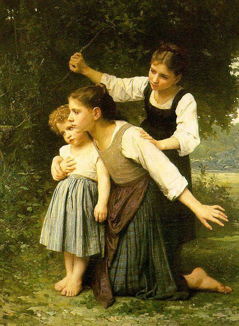 Elizabeth Gardner Bouguereau жена Бугро 1837-1922 В лесу 1889.jpg (476x650, 101Kb)