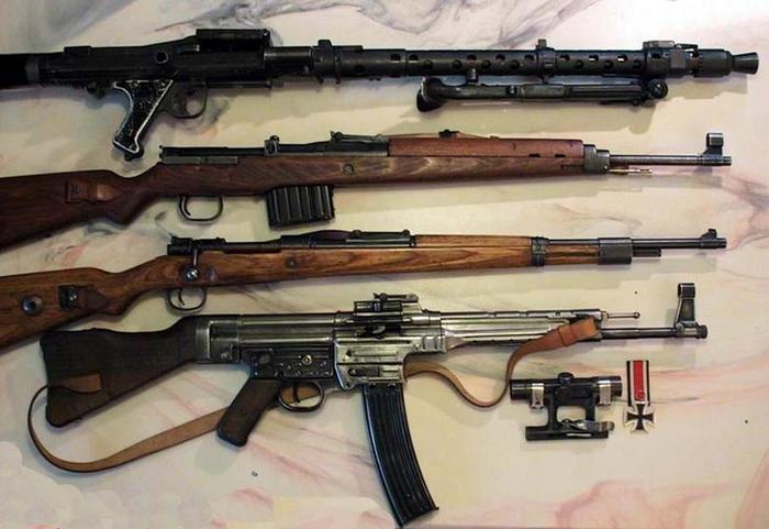 немецкое /фашисткое/ оружие