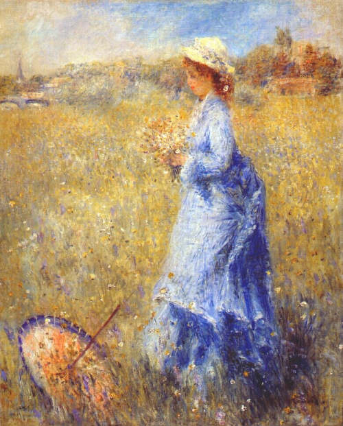 renoir Girl Gathering Flowers.jpg (500x621, 65Kb)