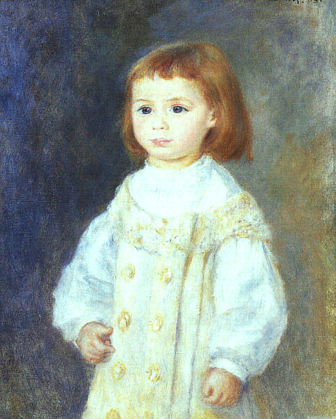 renoir Lucie Berard (Child in White), 1883.jpg (481x600, 84Kb)