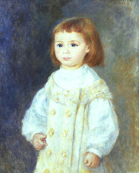 renoir Lucie Berard (Child in White), 1883.jpg (481x600, 84Kb)
