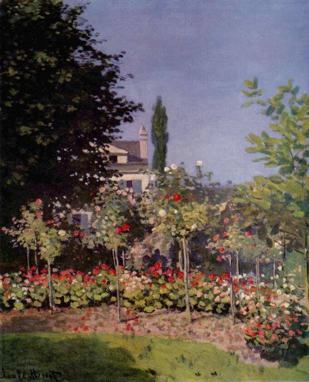 Цветущий сад в Сент-Адрессе 1866 клод моне.jpg (621x768, 162Kb)