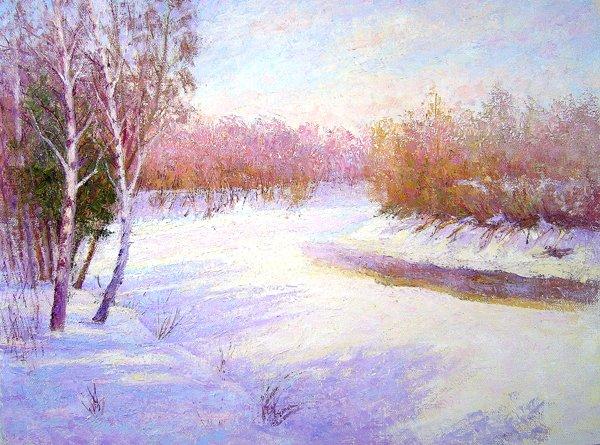 Рубрики зимние пейзажи
