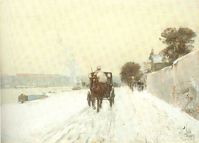 hassam Along the Seine, Winter 1887.jpg (700x502, 59Kb)