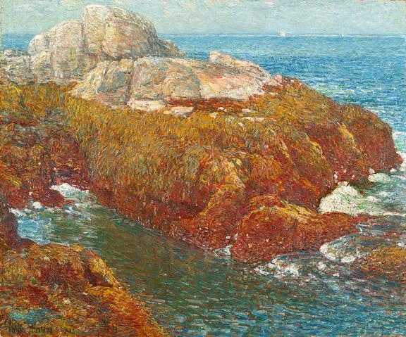 Kelp Covered Rocks  Isle of Shoals Hassam.jpg (576x479, 272Kb)