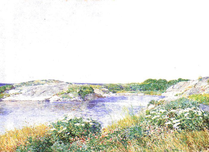 hassam The Little Pond at Appledore, 1890.jpg (700x509, 74Kb)