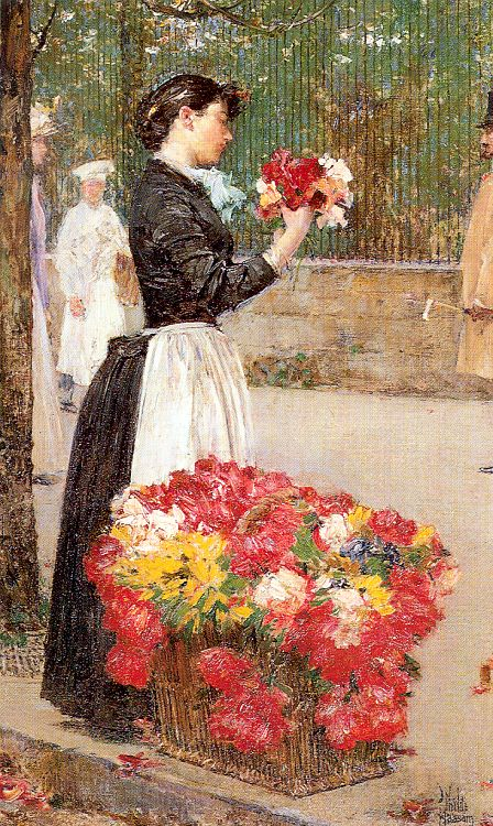 hassam Flower Girl, 1888.jpg (448x750, 146Kb)
