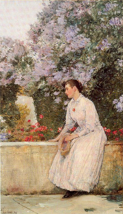 hassam In the Garden 1888.jpg (434x750, 123Kb)