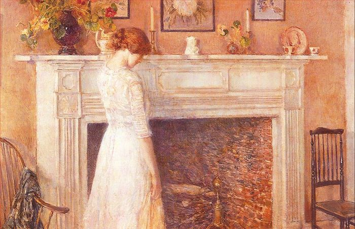 hassam In the Old House 1914.jpg (700x453, 88Kb)