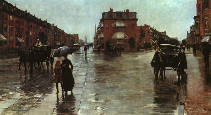 hassam Rainy Day on Columbus Street in Boston, 1885.jpg (699x381, 75Kb)